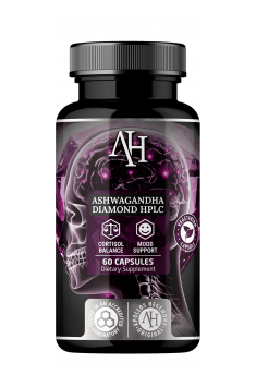 High dose of highest quality Ashwagandha supplement - Apollo's Hegemony Ashwagandha Diamond HPLC